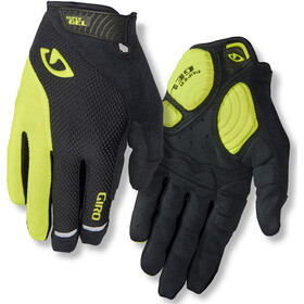Giro Strade Dure LF Cykelhandsker Herrer, black/highlight yellow